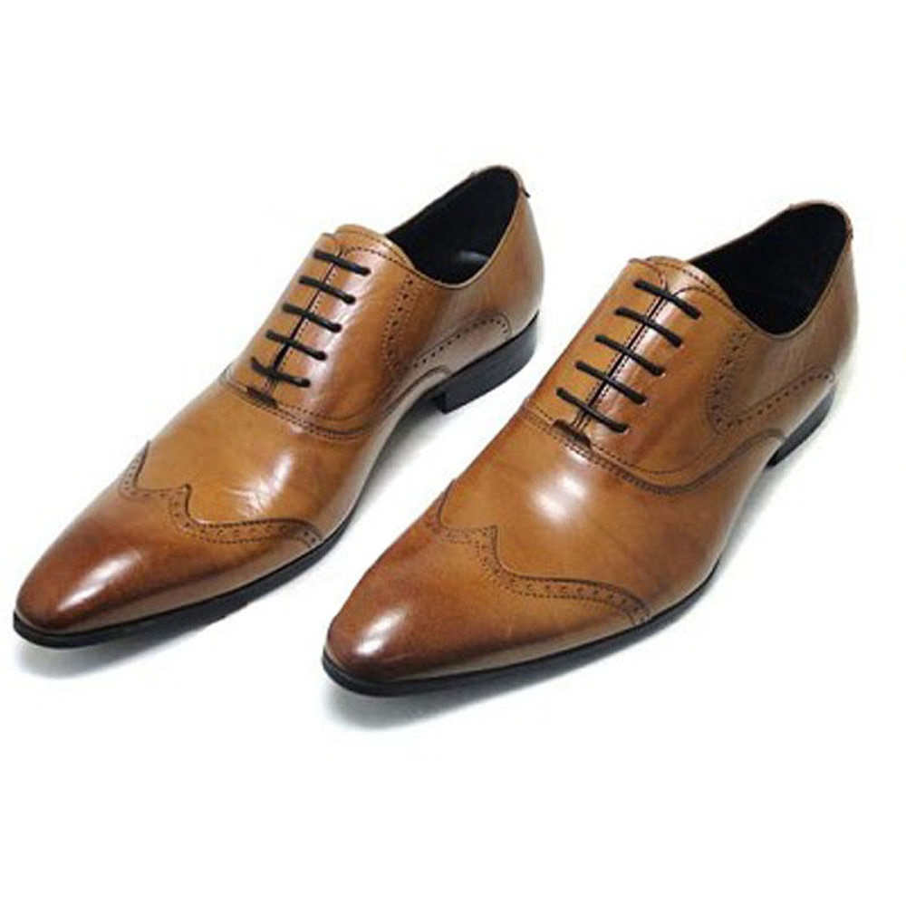 Spanish Leather Dress Shoes