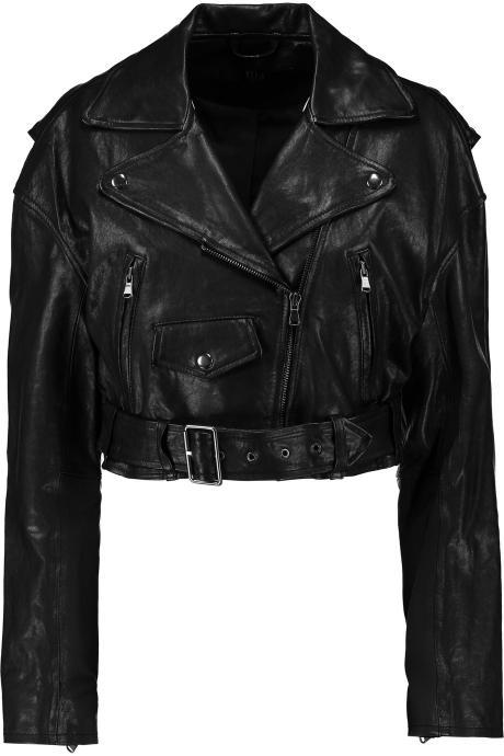 Leather Skin Women Black Biker Motorcycle Genuine Leather Jacket